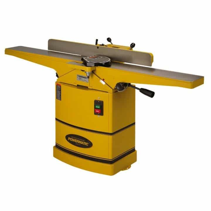Photo of a large yellow Jointer