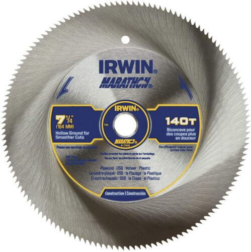 What is the best circular saw blade to cut plywood?